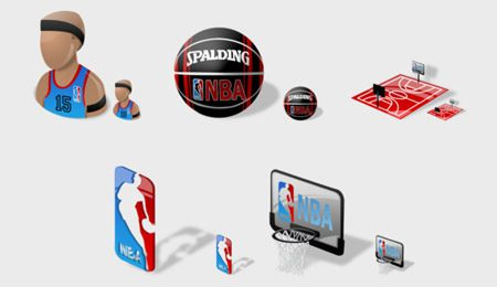 iconos deportivos | nba free icons