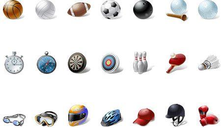 iconos deportivos | vista sport icons