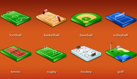 iconos deportivos | choose your sport icons