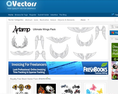 15 páginas para descargar vectores gratis|